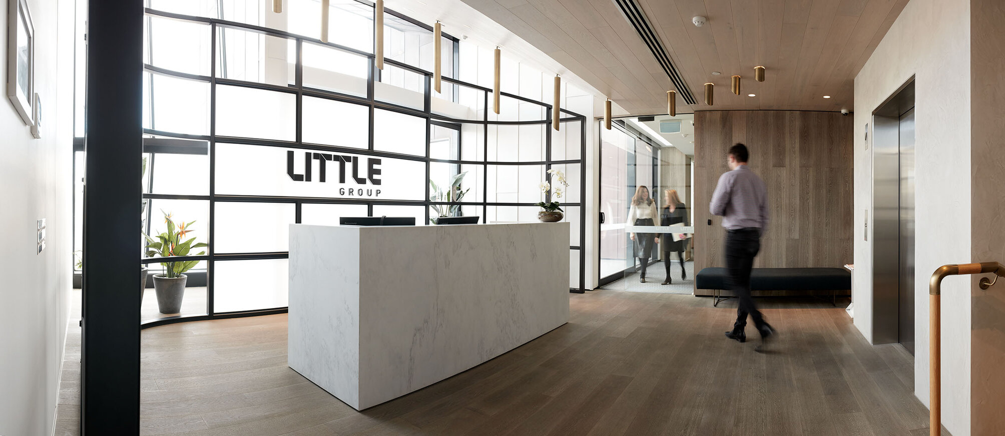 Little Group_Reception